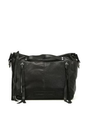 Alexander Mcqueen: shoulder bags - Loveless leather hobo bag