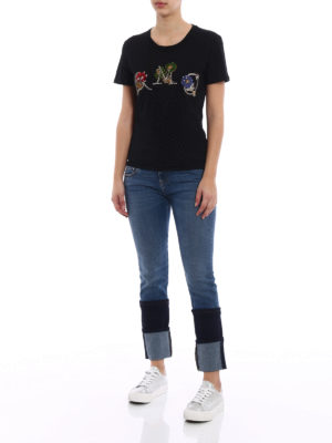 Alexander Mcqueen: skinny jeans online - Double maxi turn-up skinny jeans