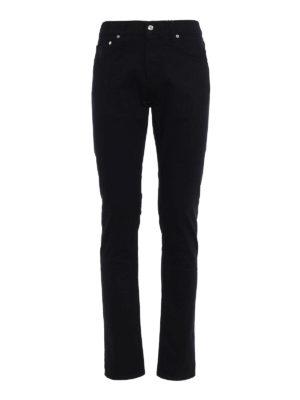 Alexander Mcqueen: straight leg jeans - Organic denim slim fit jeans