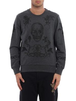 Alexander Mcqueen: Sweatshirts & Sweaters online - Embroidered sweatshirt