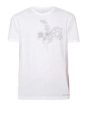 Alexander Mcqueen: t-shirts - Chest embroidery T-shirt