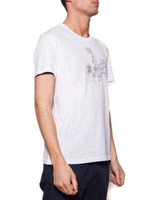 Alexander Mcqueen: t-shirts online - Chest embroidery T-shirt