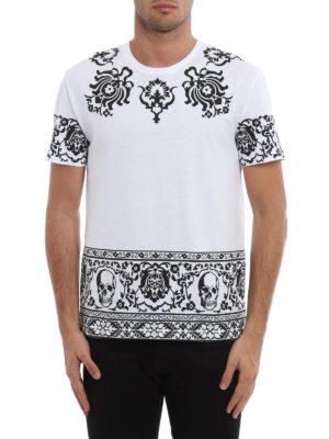 Alexander Mcqueen: t-shirts online - Engin Skull T-shirt