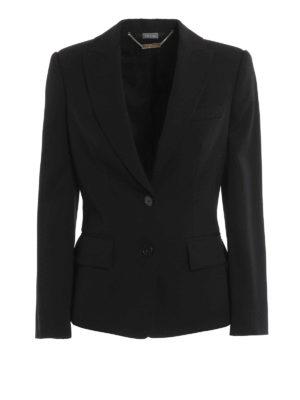 Alexander Mcqueen: Tailored & Dinner - Peplum wool tailored jacket