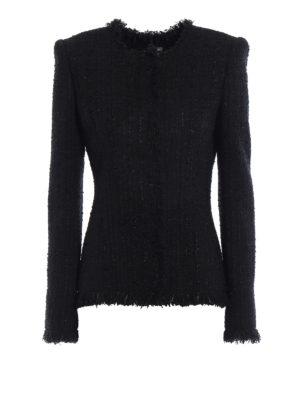 Alexander Mcqueen: Tailored & Dinner - Tweed slim fit formal jacket