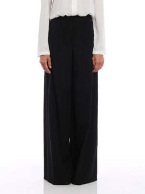 Alexander Mcqueen: Tailored & Formal trousers online - Large wool trousers