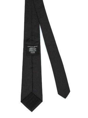 Alexander Mcqueen: ties & bow ties online - Embroidered silk tie