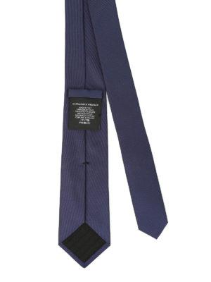 Alexander Mcqueen: ties & bow ties online - Silk tie logo detail