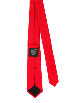 Alexander Mcqueen: ties & bow ties online - Silk tie skull detail