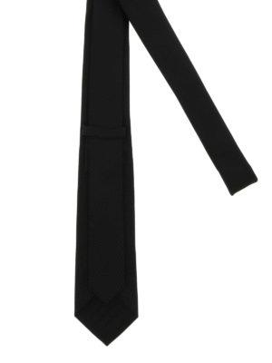 Alexander Mcqueen: ties & bow ties online - Skull silk tie
