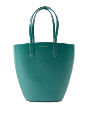 Alexander Mcqueen: totes bags - Basket Bag small leather tote