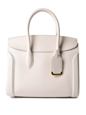 Alexander Mcqueen: totes bags - Heroine 35 leather tote