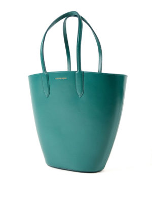 Alexander Mcqueen: totes bags online - Basket Bag small leather tote