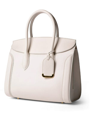 Alexander Mcqueen: totes bags online - Heroine 35 leather tote