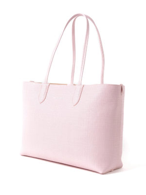 Alexander Mcqueen: totes bags online - Pink leather small shopping bag