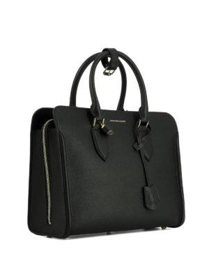 Alexander Mcqueen: totes bags online - Top zip double handle tote