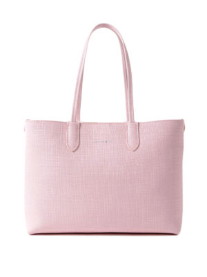 Alexander Mcqueen: totes bags - Pink leather small shopping bag