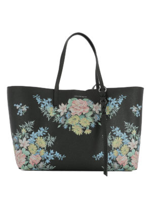 Alexander Mcqueen: totes bags - Printed leather tote