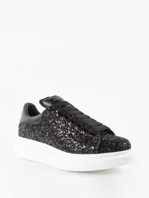 Alexander Mcqueen: trainers online - Glitter sneakers with chunky sole