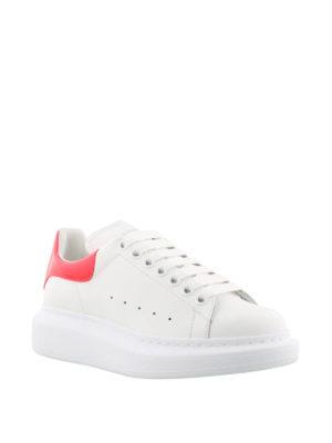 Alexander Mcqueen: trainers online - Oversize fluo back white sneakers