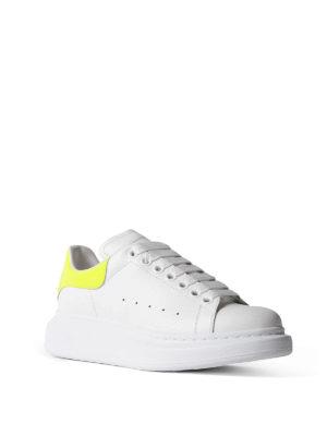 Alexander Mcqueen: trainers online - Oversize fluo yellow white sneakers