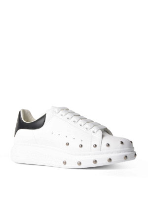 Alexander Mcqueen: trainers online - Studded leather sneakers