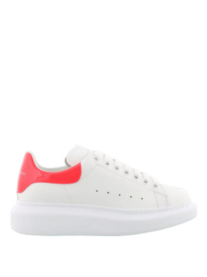 Alexander Mcqueen: trainers - Oversize fluo back white sneakers