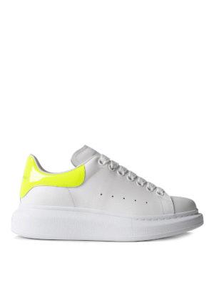 Alexander Mcqueen: trainers - Oversize fluo yellow white sneakers
