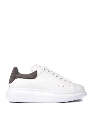 Alexander Mcqueen: trainers - Oversize sole leather sneakers