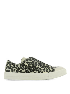 Alexander Mcqueen: trainers - Printed leather low top sneakers