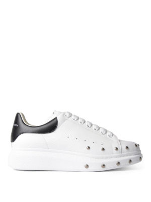 Alexander Mcqueen: trainers - Studded leather sneakers
