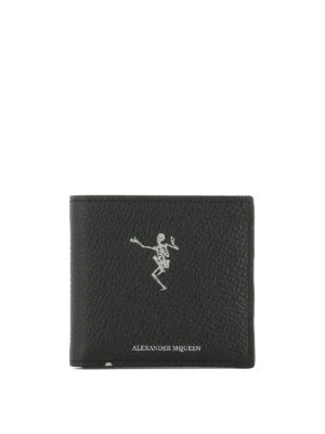 ALEXANDER MCQUEEN: portafogli - Portafoglio Dancing Skeleton