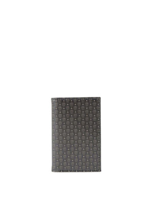 Alexander Mcqueen: wallets & purses - Micro Skull bifold card holder