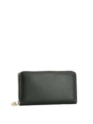 Alexander Mcqueen: wallets & purses online - Continental zip-around wallet