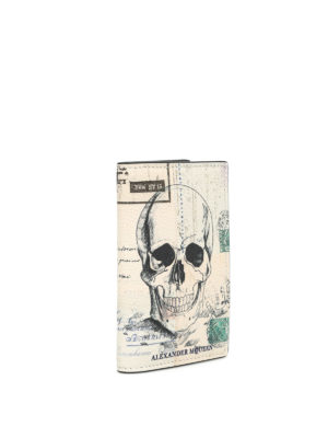 Alexander Mcqueen: wallets & purses online - Letters from India card holder