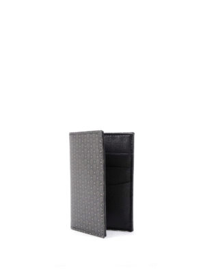 Alexander Mcqueen: wallets & purses online - Micro Skull bifold card holder