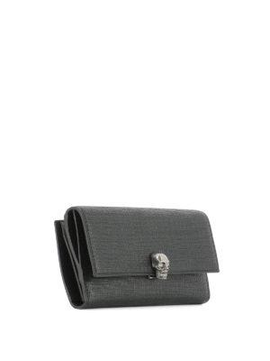 Alexander Mcqueen: wallets & purses online - Skull Continental wallet