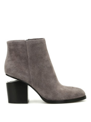 Alexander Wang: ankle boots - Cut out heel Gabi ankle boots