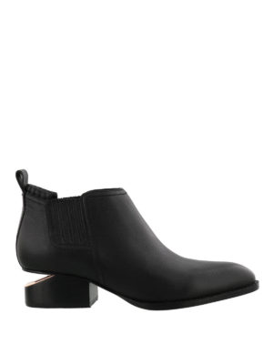Alexander Wang: ankle boots - Kori cut out heeled ankle boots