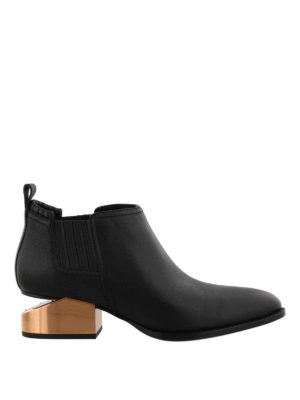 Alexander Wang: ankle boots - Kori cut-out heeled ankle boots