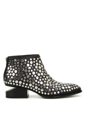 Alexander Wang: ankle boots - Kori studded ankle boots