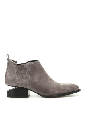 Alexander Wang: ankle boots - Kori suede ankle boots