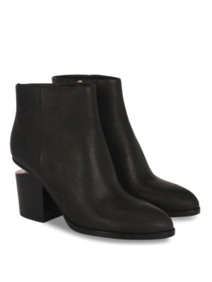Alexander Wang: ankle boots online - Cut out heel Gabi ankle boots