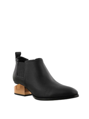 Alexander Wang: ankle boots online - Kori cut-out heeled ankle boots