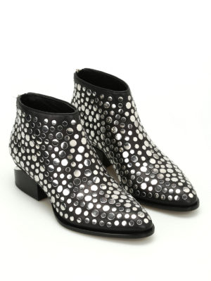 Alexander Wang: ankle boots online - Kori studded ankle boots