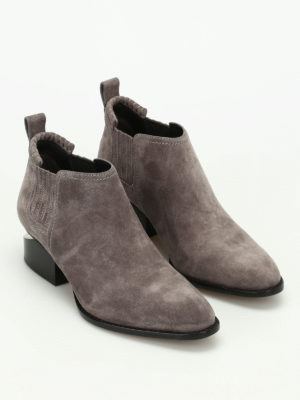 Alexander Wang: ankle boots online - Kori suede ankle boots