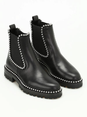 Alexander Wang: ankle boots online - Spencer studded ankle boots