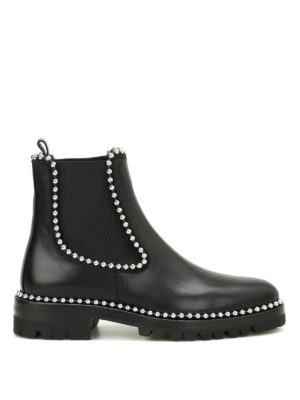 Alexander Wang: ankle boots - Spencer studded ankle boots