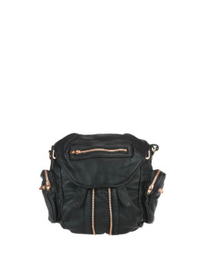 Alexander Wang: backpacks - Marti leather backpack