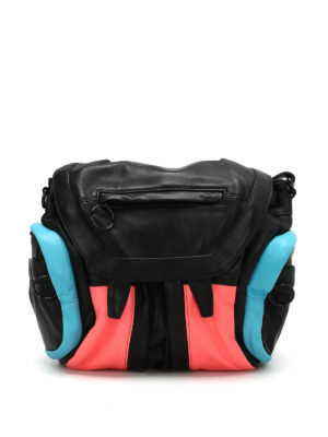 Alexander Wang: backpacks - Mini Marti colour block backpack